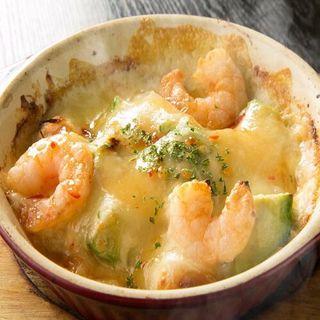 海老とアボカドのチーズ焼き(個室Dining 楽 )