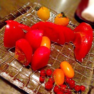 トマトのお刺身(あんだんて 横浜西口店)