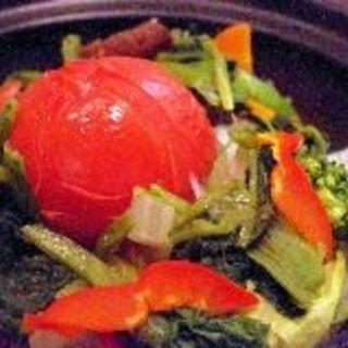 丸ごとトマトのサウナサラダ(ゴマムラ (GOMAmura))