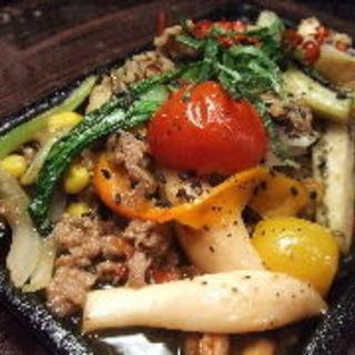 野菜のガーリック炒め(ゴマムラ (GOMAmura))