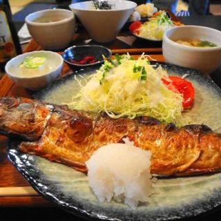 とろさば塩焼き定食(SABAR 京都烏丸店 (サバー))