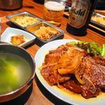 LAカルビ焼肉セット(南屋韓国食堂 )