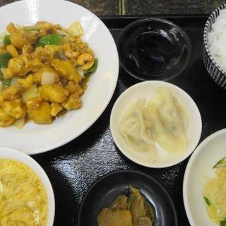 鶏肉とカシューナッツのピり辛炒め定食(楽仙樓 (楽仙楼 ラクセンロウ))