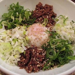 汁なし担担麺(中国料理 開華 )