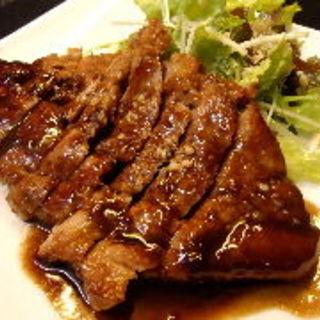 豚肩ロースのソテー(食楽 旨い肴 )