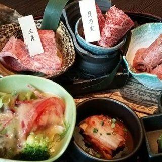 特選 極定食(秋田牛玄亭 )