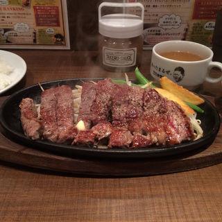 チョップステーキ(1ポンドの ステーキ ハンバーグ タケル 福島店 )
