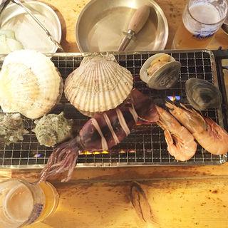 新鮮魚介焼き(小田原さかなセンター )
