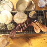 新鮮魚介焼き