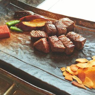 旬彩ランチ(牛フィレステーキ)(ときわ )