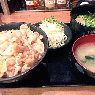 名物スタミナ丼(はるか 秋葉原店 )
