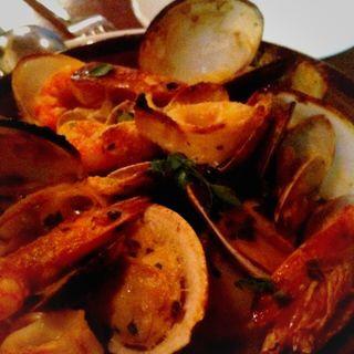 色々魚介のオーブン焼き(トラットリア フランコ (TRATTORIA FRANCO))