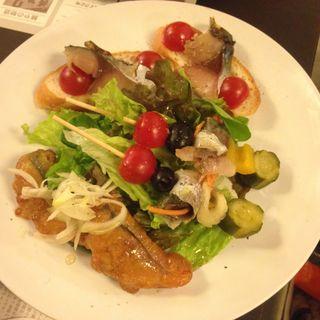 SABARおまかせ前菜3種盛り(SABAR 福島店 (サバー))
