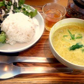 日替わりオリジナルカレーセット 五行茶付セット(ガーデンカフェ (GARDEN CAFE))