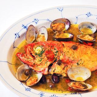 鮮魚のアクアパッツァ(ジェラテリア アクアパッツァ (GELATERIA ACQUAPAZZA))