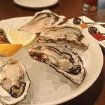 生牡蛎のプレート