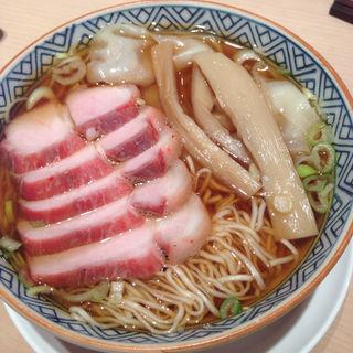 叉焼雲呑麺(日本橋よし町)