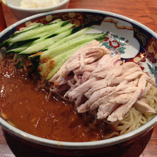 鶏絲涼麺(はしご 銀座本店)