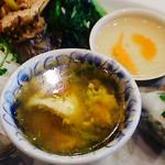 空芯菜炒めご飯セット