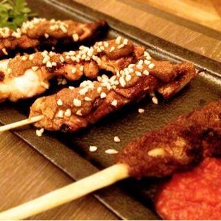 バリの串焼き サテ盛り合わせ(CAFE RAMBUTAN (カフェ ランブータン))