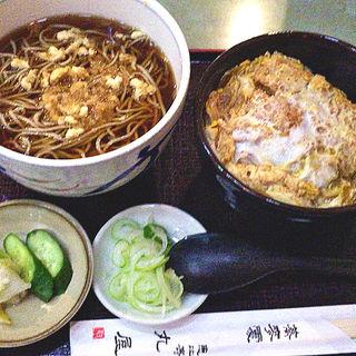 カツ丼セット(恵比寿丸屋)