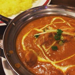 ランチCセット(チキンカレー)(インド・ネパール料理 タァバン 松戸店 )