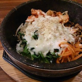 石焼チーズビビンバ(韓国家庭料理 チェゴヤ ノースポート・モール店 (カンコクカテイリョウリチェゴヤ))