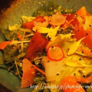 海鮮ごだいごサラダ(ごだいご新宿武蔵野ビル店)