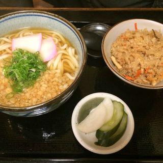 うどんBセット(辨慶  東山店 (べんけい))