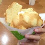 メロンパンアイス(世界で2番めにおいしい焼きたてメロンパンアイス 新京極店 )