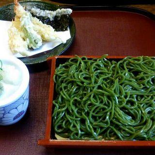 茶切り天ざる(京都 権太呂 本店 (ごんたろ))