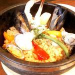 海鮮石焼パエリア(ランチ)(Unico西梅田 (ウニコニシウメダ))