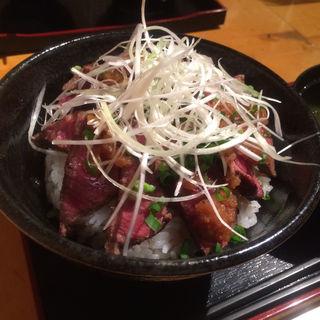 限定A5牛ステーキ丼(鉄板焼 芯 (てっぱんやき しん))