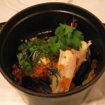 魚介のパエリア鍋