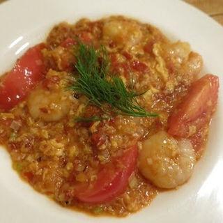 トマトの炒め物イタリア風(ヴェッキオアルベロ (VecchioAlbero))