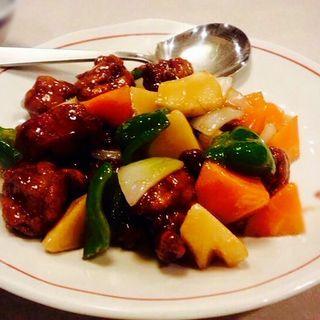 古老肉(小)(博愛 (中華菜館))