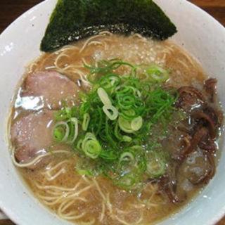 醤油とんこつラーメン(麺や 壱宗)