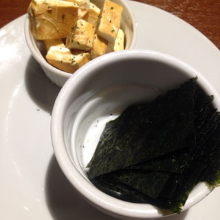 クリームチーズのたまり醤油漬け(Balg/ (バルクスラッシュ))