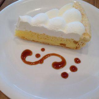 レモンクリームパイ(アトリエ カフェ キラリト ギンザ (ATELIER CAFE))