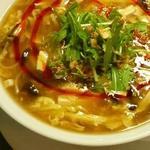 キノコのサンラータンスープ