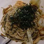 和風五目炒め蕎麦