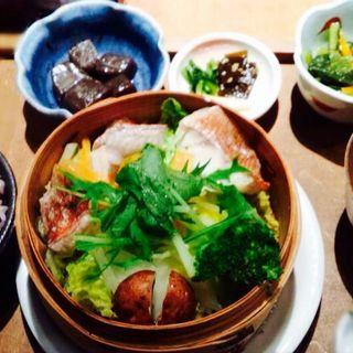 本日のお魚と野菜のせいろ蒸し(カムカム (Come Come))