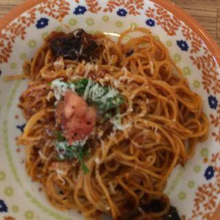 茄子と完熟トマトのミートソースパスタ(フィンスタイル (FinnStyle))