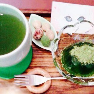 一服セット(彩茶 (saisa))