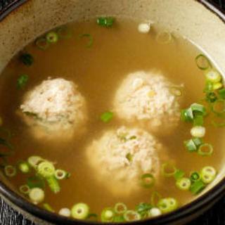 つみれスープ(ほろよいダイニングちどりあし (【旧店名】地鶏脚))