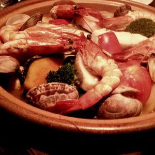 特製 海の幸と季節野菜のスチームロースト タジン鍋(オランジェ (orange))