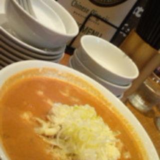 チーズトマト担担麺(CHINESE 青菜 あみプレミアムアウトレット店 (チャイニーズチンツァイ))