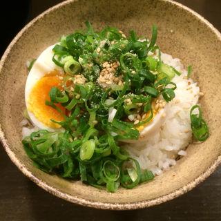 煮玉子メシ(ちらん 梅田店 )