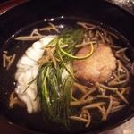 天草の鱧 蓮根餅 おかひじき じゅんさい(おすましディナーコース)
