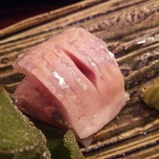 出水のアジ(ディナーコース)(日本料理 太月)